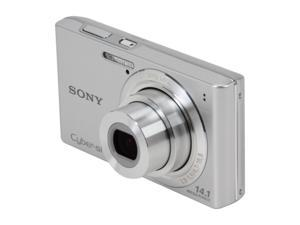 SONY Cyber-shot DSC-W610 Silver 14.1 MP Digital Camera
