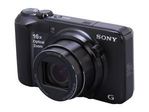 SONY DSC-H90/B Black 16.1MP Digital Camera