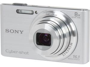 SONY DSCW730 Silver 16.1 MP Digital Camera
