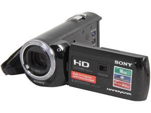 "SONY HDR-PJ380/B Black 1/5.8"" CMOS 3.0"" 230K LCD 30X Optical Zoom Full HD HDD/Flash Memory Camcorder"