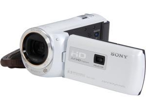 SONY HDR-PJ380/W White Full HD HDD/Flash Memory Camcorder