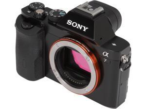 SONY Alpha a7 ILCE-7/B Black Interchangeable Lens Camera - Body