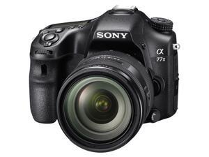 SONY Alpha 77 M2Q ILCA77M2Q Black 24.3MP Digital SLR Camera with 16-50mm Lens