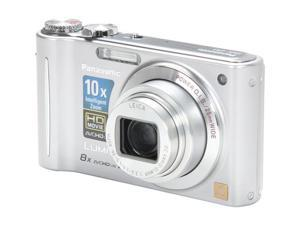 Panasonic DMC-ZR3S Silver 14.1 MP 25mm Wide Angle Digital Camera