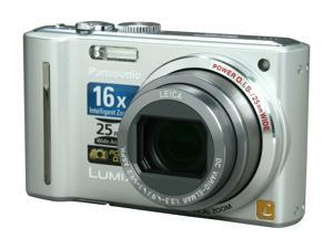 Panasonic DMC-ZS5S Silver 12.1 MP 25mm Wide Angle Digital Camera