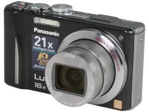 Panasonic DMC-ZS10K Black 14.1 MP Digital Camera