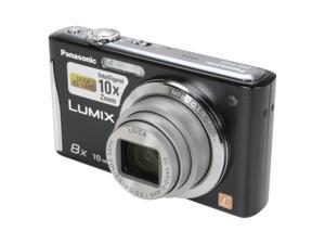 Panasonic LUMIX FH25 DMC-FH25K Black 16.1 MP 28mm Wide Angle Digital Camera