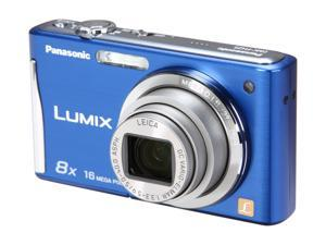 Panasonic DMC-FH25A Blue 16.1 MP 28mm Wide Angle Digital Camera