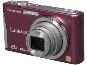Panasonic DMC-FH25V Violet 16.1 MP 28mm Wide Angle Digital Camera