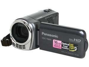 Panasonic HDC-TM41H HD Camcorder with 16GB Internal Flash Memory. Gray