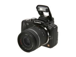 Panasonic Lumix DMC-G3KK 16MP Micro Four-Thirds Interchangeable Lens. Black