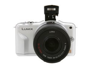 Panasonic  LUMIX DMC-GF3KW  White  Digital  Camera w/ 14-42mm Lens