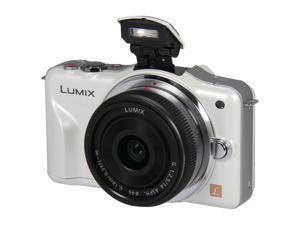 Panasonic LUMIX DMC-GF3CW White Digital Camera w/ 14mm Lens