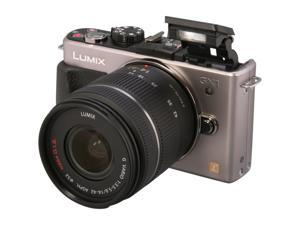 Panasonic DMC-GX1KS Silver Digital Interchangeable Lens System Camera w/ 14-22mm Lens