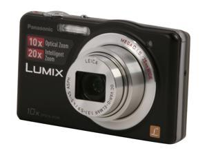Panasonic DMC-SZ1 Black 16.1 MP 25mm Wide Angle Digital Camera