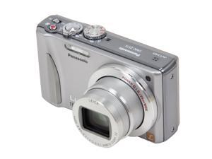 Panasonic DMC-ZS15 Silver 12.1 MP 24mm Wide Angle Digital Camera
