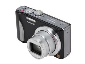 Panasonic DMC-ZS15 Black 12.1 MP 24mm Wide Angle Digital Camera