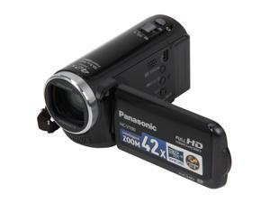 Panasonic HC-V100K Black Full HD Camcorder