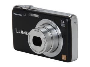 Panasonic LUMIX DMC-FH6 Black 14.1 MP 24mm Wide Angle Digital Camera