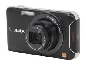Panasonic LUMIX SZ5 DMC-SZ5K Black 14.1 MP 25mm Wide Angle Digital Camera