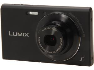 Panasonic LUMIX DMC-FH10K Black 16.1 MP Digital Camera