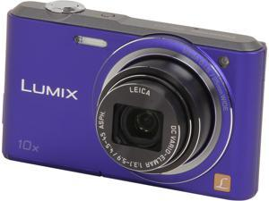 Panasonic LUMIX DMC-SZ3V Violet 16.1 MP Digital Camera
