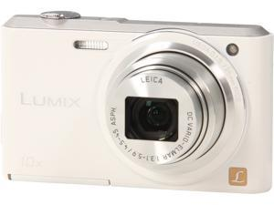 Panasonic LUMIX DMC-SZ3W White 16.1 MP Digital Camera