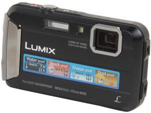 "Panasonic LUMIX TS25 DMC-TS25K Black 16.1 MP 2.7"" 230K Active Lifestyle Tough Camera"