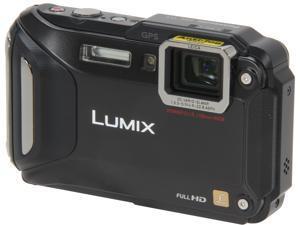 "Panasonic LUMIX DMC-TS5K Black 16.1 MP 3.0"" 460K WiFi Enabled Lifestyle Tough Camera"