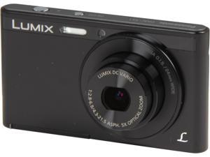 Panasonic LUMIX DMC-XS1K Black 16.1 MP Digital Camera