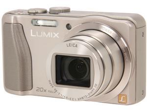 Panasonic LUMIX DMC-ZS25S Silver 16.1 MP Digital Camera HDTV Output