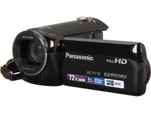 Panasonic HC-V110K Black Full HD HDD/Flash Memory Camcorder