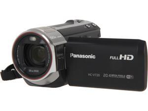 Panasonic HC-V720K Black Full HD HDD/Flash Memory Camcorder