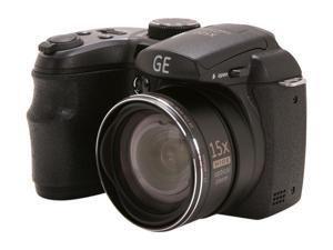 GE  X500-BK  Black  16 MP  27mm  Wide Angle Digital Camera