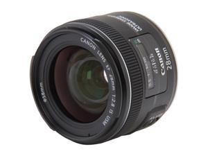 Canon 5179B002 EF 28mm f/2.8 IS USM Wide-Angle Lens Black