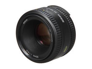 Nikon 2137 SLR Lenses AF NIKKOR 50mm f/1.8D Lens Black