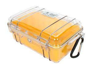 PELICAN 1050-027-100 Yellow Micro Case with Yellow Liner