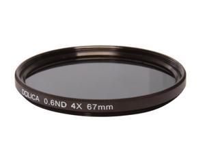 DOLICA CF6-ND67 67mm 4X 0.6ND Neutral Density Filter