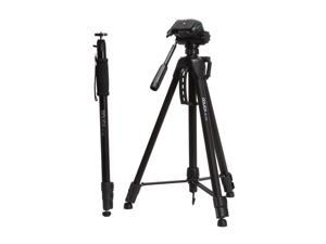 Dolica STC-100 Lightweight Tripod and Ball-head Monopod Combo
