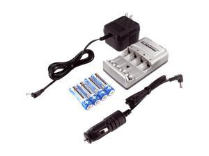 HI CAPACITY B-9700 Rechargeable Batteries & Charger Kit