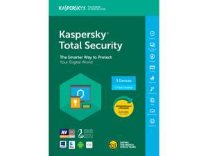 Kaspersky Total Security 2018 - 3 Devices/1 Year [Key Card]