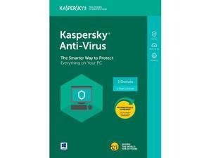 Kaspersky Anti-Virus 3 Devices 2018 - Download