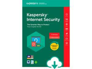 Kaspersky Internet Security 5 Devices 2018 - Download