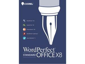 Corel WordPerfect Office X8 Standard Upgrade