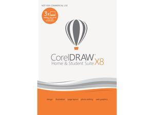 Corel CorelDRAW Home & Student Suite X8 - Download