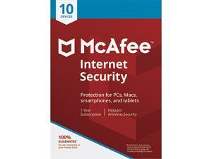 McAfee Internet Security 2018 - 10 Device / 1 Year