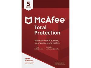 McAfee Total Protection 2018 - 5 Device / 1 Year