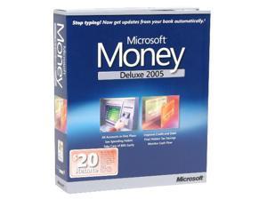 Microsoft Money 2005 Deluxe