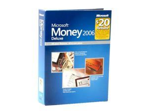 Microsoft Money Deluxe 2006 Mini Box