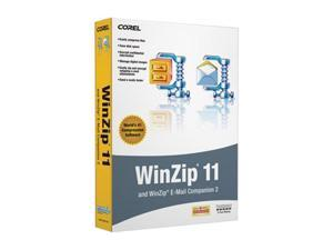 Corel WinZip 11 with Email Companion 5 pack